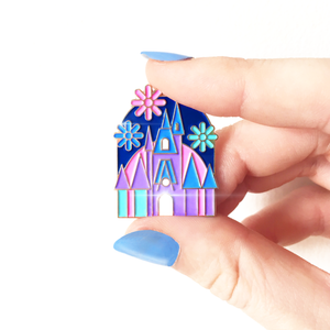 SECONDS Princess Castle Enamel Pin