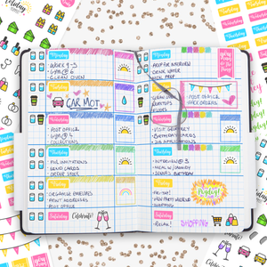 Daily General Planner Stickers