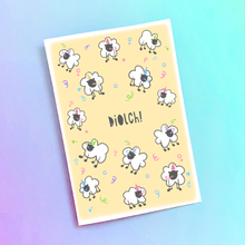 Load image into Gallery viewer, Diolch Thank You Welsh Birthday Card