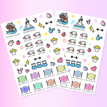 Load image into Gallery viewer, Orlando Planning Stickers Bumper Pack