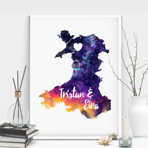Welsh Valentine's Day Art Print