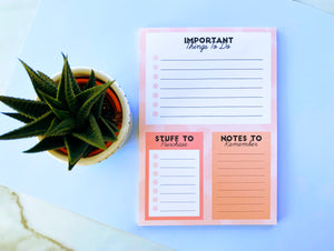 A5 To-Do Desk Pad