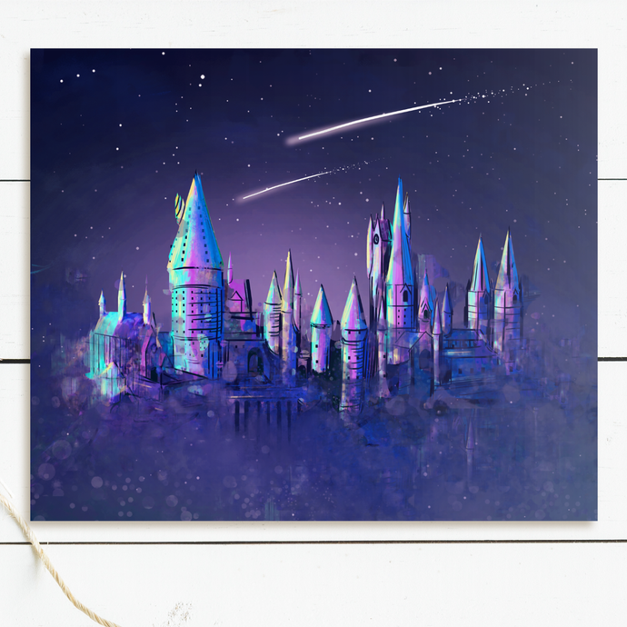 Wizard Castle Art Print