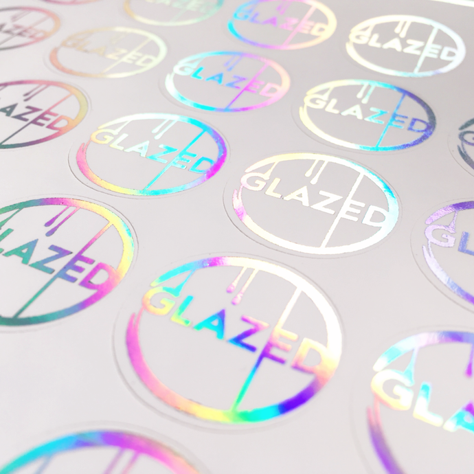 Custom Holographic Logo Stickers
