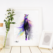 Load image into Gallery viewer, Horse Art Print