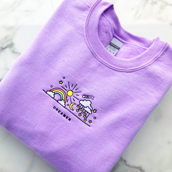 Lilac Dreamer Sweater