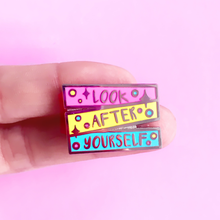 Load image into Gallery viewer, Look After Yourself Hard Enamel Pin