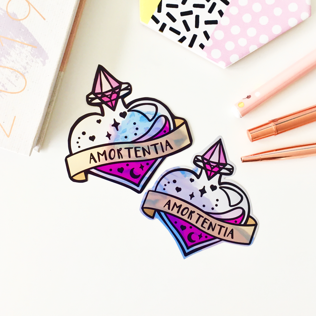 Shiny Love Potion Sticker