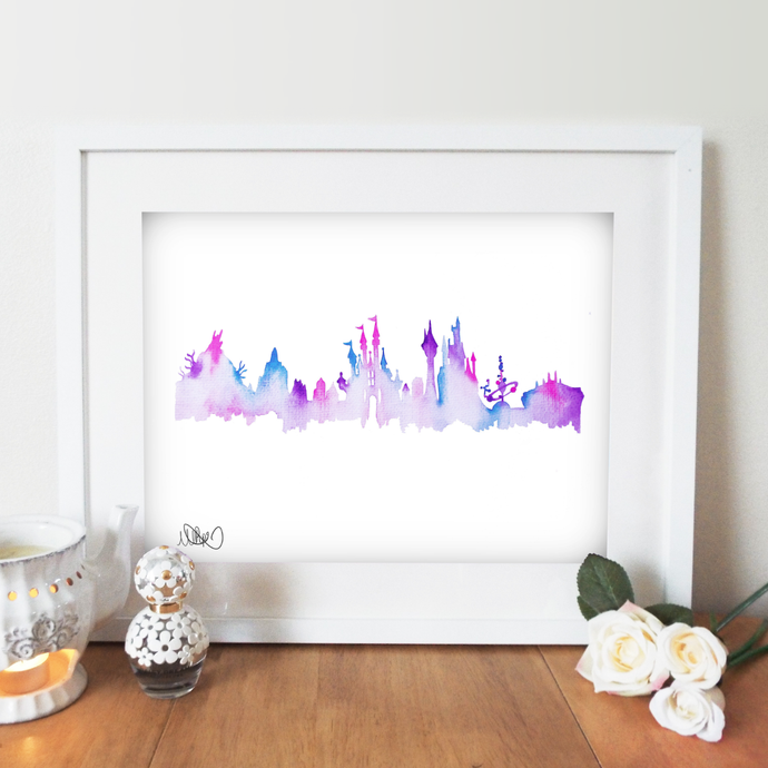 Magic Skyline Wall Art Print