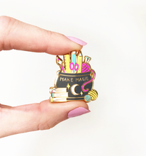 Load image into Gallery viewer, Make Magic Hard Enamel Pin