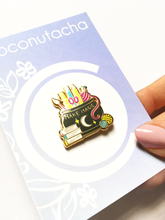 Load image into Gallery viewer, SECONDS Make Magic Hard Enamel Pin