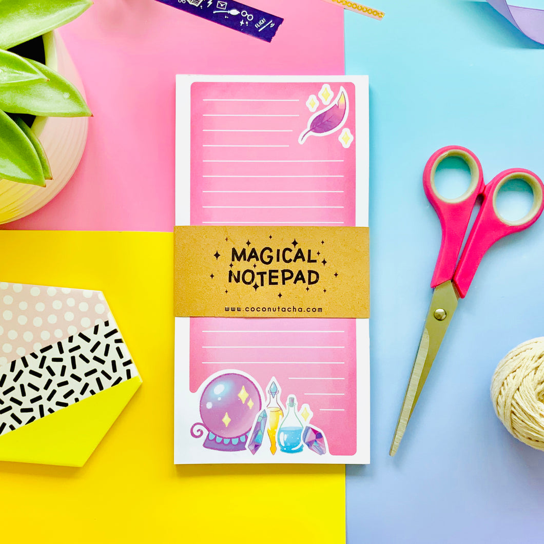 Pink Magical Notepad