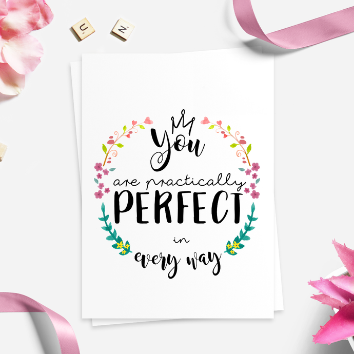 Practically Perfect Card
