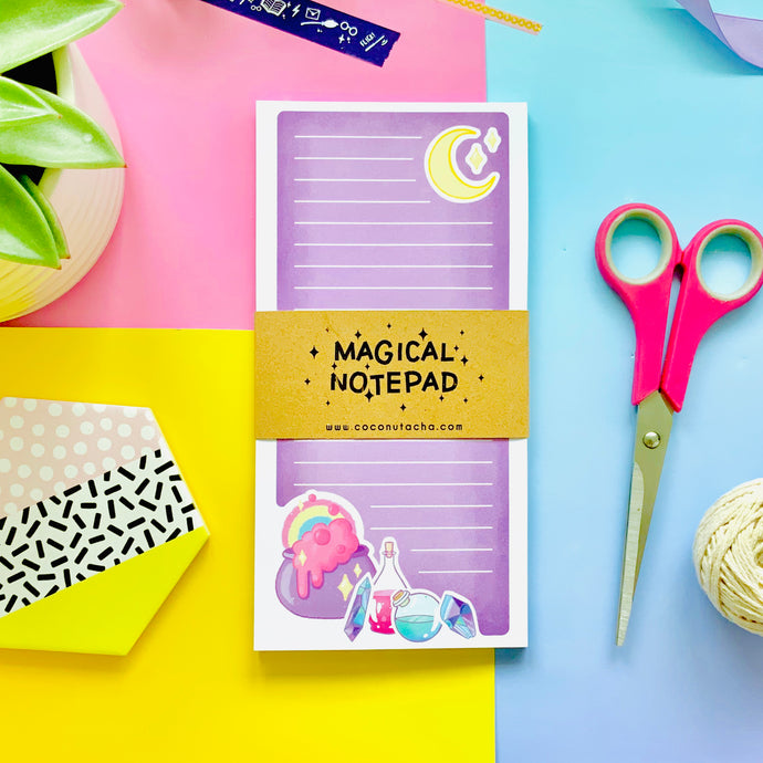 Purple Magical Notepad