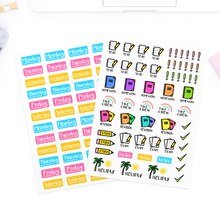 Load image into Gallery viewer, School/College Planner Stickers