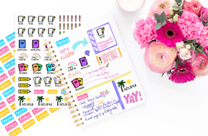 School/College Planner Stickers