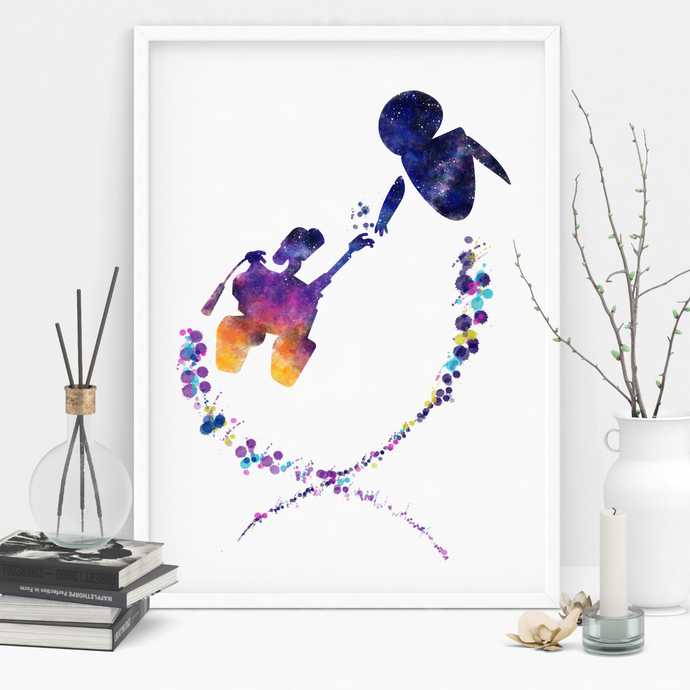 Robot Love Art Print
