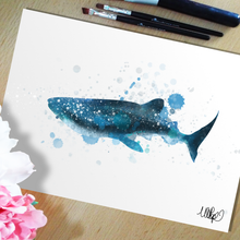 Load image into Gallery viewer, Whale Shark Art Print