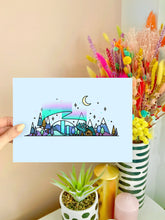 Load image into Gallery viewer, Winter Skyline Wall Art Print