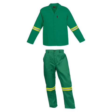 Conti Suit - Flame Resistant - Reflective Strip on Arms & Legs