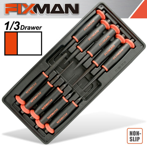 FIXMAN 10-PC PUNCHES PIN 2-3-4-5 PUNCH 2-3-4-5-6 CENTER PUNCH 8MM