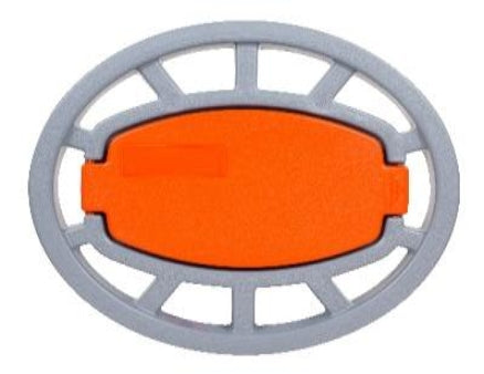 Wall Mounted Hose Reel (Orange Lift)