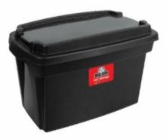 30L Tough Tote Curve - Storage Box with Lid