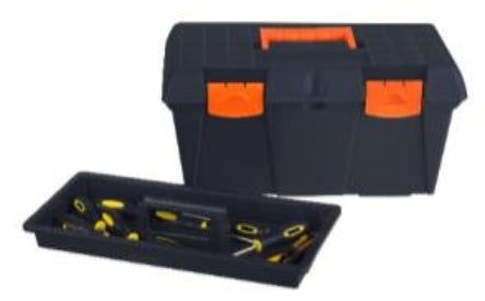 Toolbox Basic 48cm Stackable (Black)