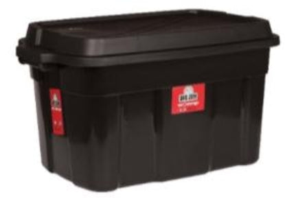100L Tough Tote - Storage Box with Lid