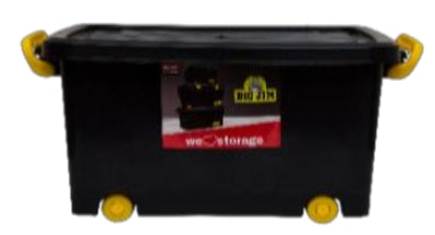 32L Roller Box (ClipLock) - Storage Box with Lid