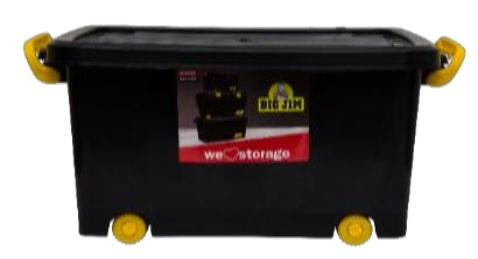 55L Roller Box (ClipLock) -Storage box with Lid