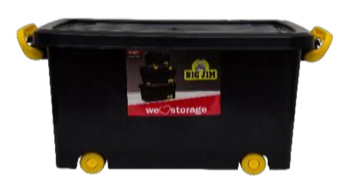 90L Roller Box (ClipLock) - Storage Box with Lid