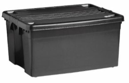 80L Roller Box (Robust) - Storage Box with Lid