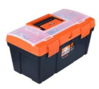 Toolbox Standard 48cm (Orange Organiser Lid)