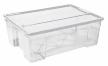 30L Alpha Storage Box (Clear)