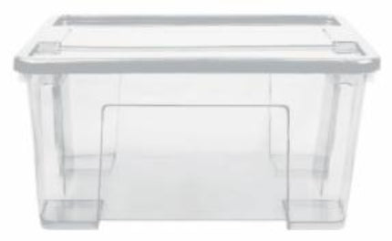 47L Alpha Storage Box (Clear)