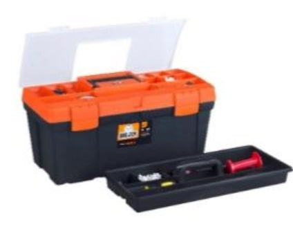 Toolbox Standard 56cm (Orange Organiser Lid)