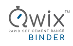 QWIX - BINDER - SETS in 15 MINUTES Very Rapid Hardening Hydraulic Cement