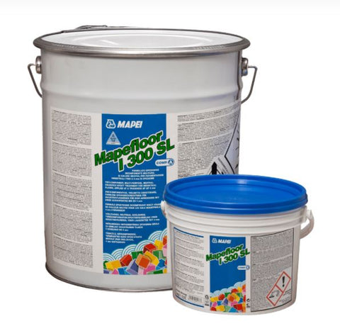 Mapefloor I300SL (20kg): Two-component, multi-purpose, neutral-coloured epoxy formulate for industrial floor coatings up to 4 mm thick.