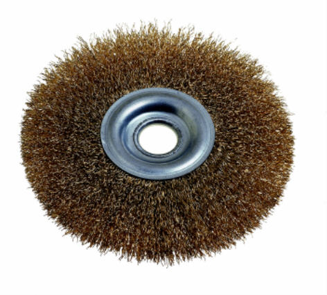 WIRE WHEEL BRUSH 150MM X 13MM