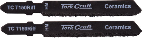 T-SHANK JIGSAW BLADE FOR CERAMICS 77MM 2PACK