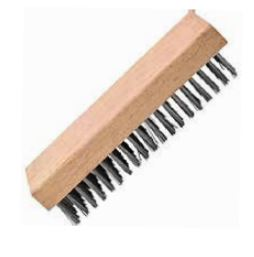 WIRE BRAZING BLOCK BRUSH