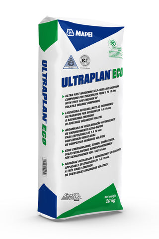 Ultraplan Eco (20kg): Ultra-fast hardening self-levelling smoothing compound