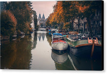 Load image into Gallery viewer, Serene Amsterdam - Canvas Print