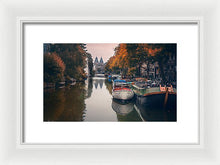 Load image into Gallery viewer, Serene Amsterdam - Framed Print