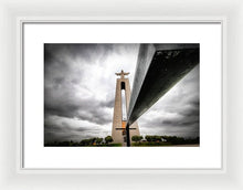Load image into Gallery viewer, Christo Rei - Framed Print