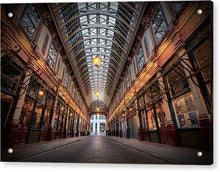 Load image into Gallery viewer, Leadenhall Market - Acrylic Print