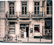 Load image into Gallery viewer, Lisboa. Street Corner  - Canvas Print