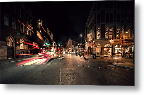 London Bus - Metal Print