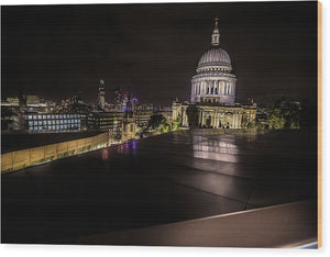 Londonscape - Wood Print